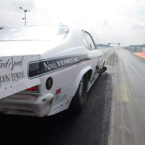 Yenko Nova runs 197mph at Euros